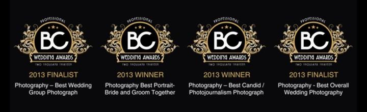 BC Wedding Awards 2013