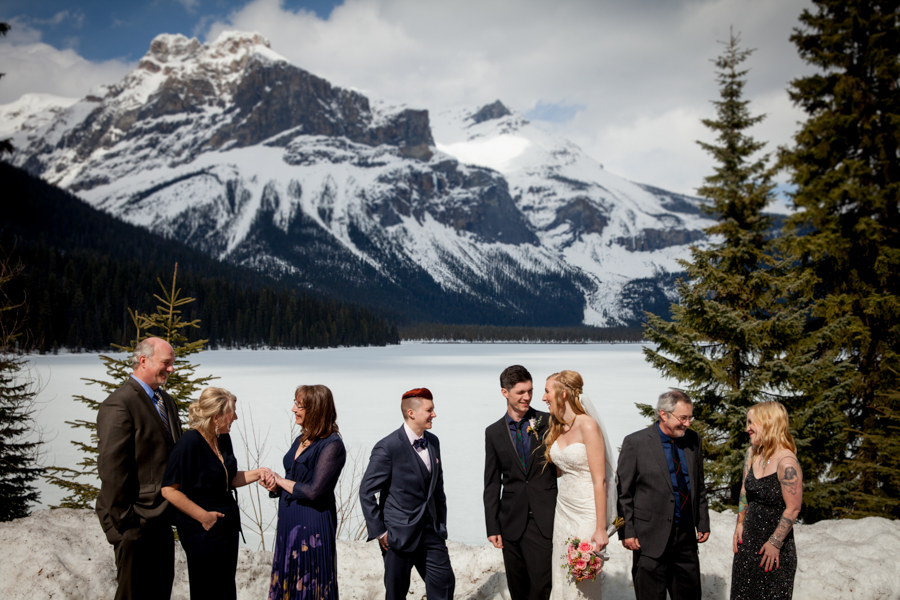 Emerald Lake Lodge Wedding -11
