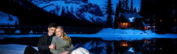 James & Danielle's Emerald Lake Lodge Wedding