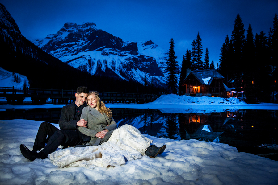 Emerald Lake Lodge Wedding -19
